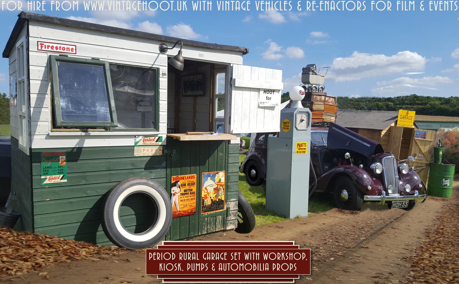 Garage set  VintageHoot.uk 1.jpg