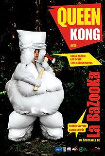Affiche QUEEN KONG
