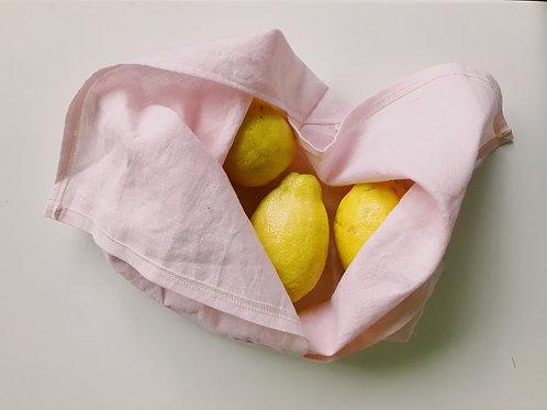 IVORY cotton/Linen Azuma bukuro / bento project, produce, gift bag in linen