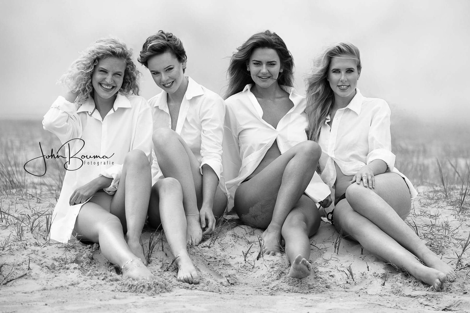 Beach girls.