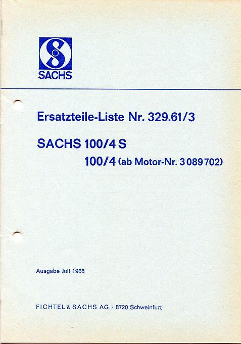 Sprint 100 og Transport 515 Motordelebok