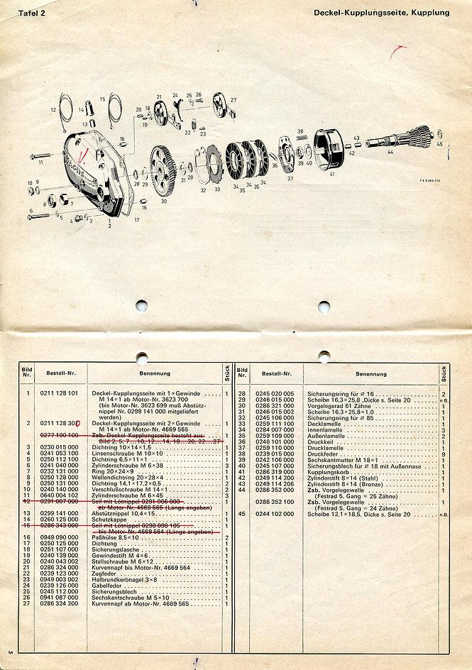 Sprint 820 1970 modell, Sachs 50S, 5,2 H