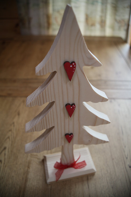 Wooden Crafted Christmas Tree