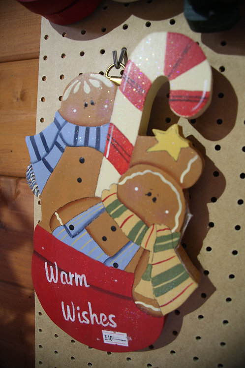 """""""Warm Wishes"""" Wooden Craft"""
