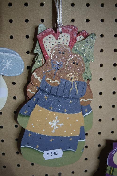 Christmas Gingerbread Men Hanger