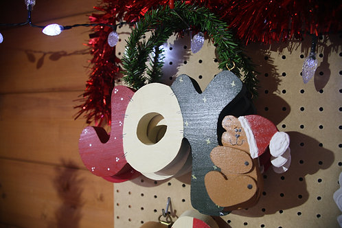 """Joy"" Wooden Craft"