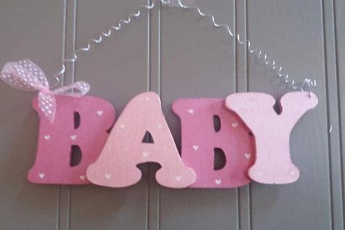 Wooden Baby Hanger