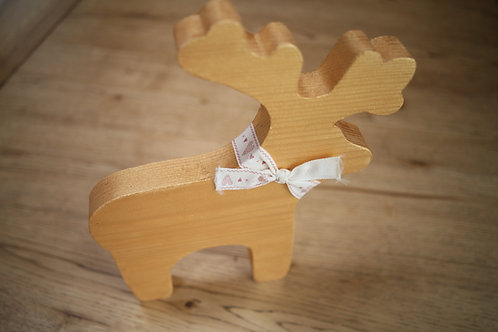 Wooden Crafted Rudolf