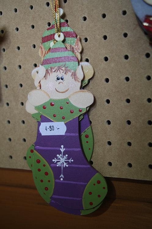 Christmas Elf Stocking