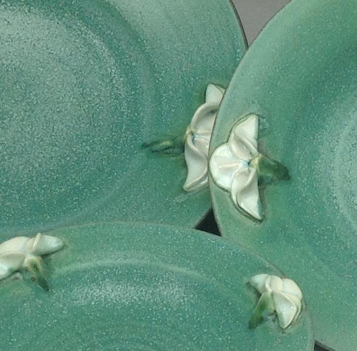 2015 Iris Bowls Close up