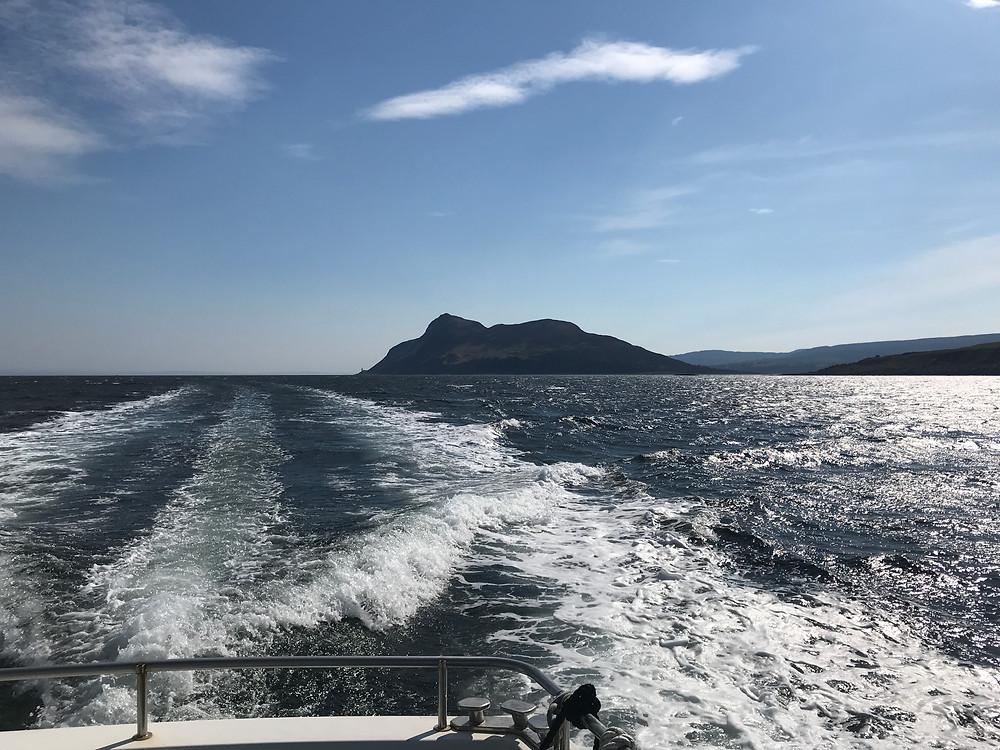 Holy Island off Arran