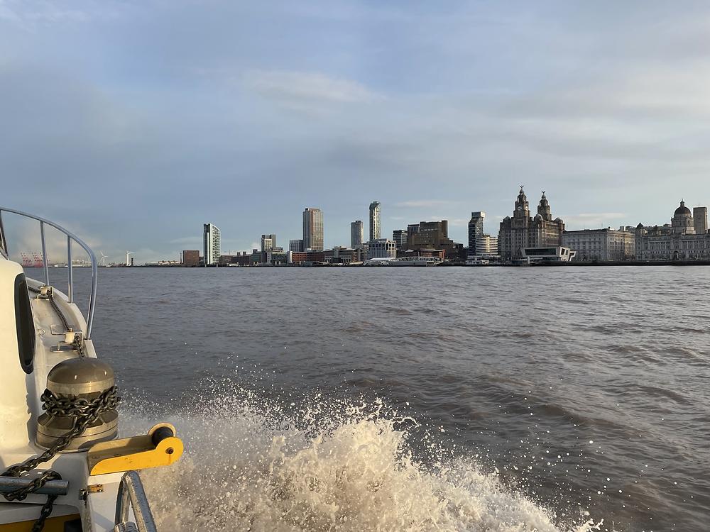 Fyne Explorer leaving Liverpool