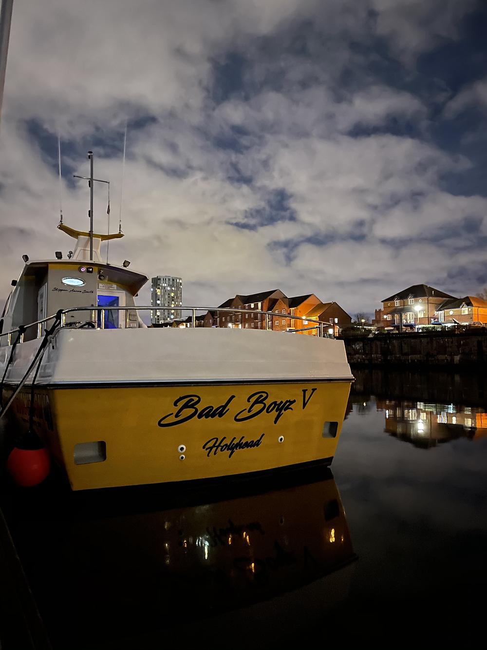 Fyne Sea tours new ship