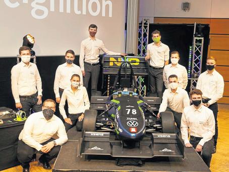 [Hamburger Abendblatt] e-gnition: Der erste Rennwagen ohne Fahrer