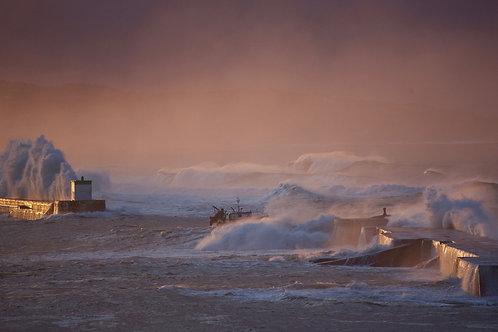 Le Téméraire en Haute Mer