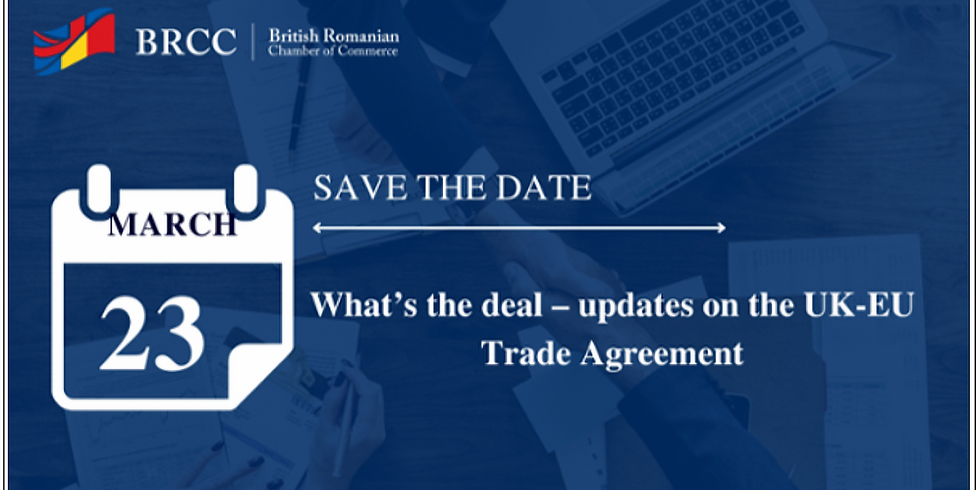 What's the deal - UK-EU Trade Agreement