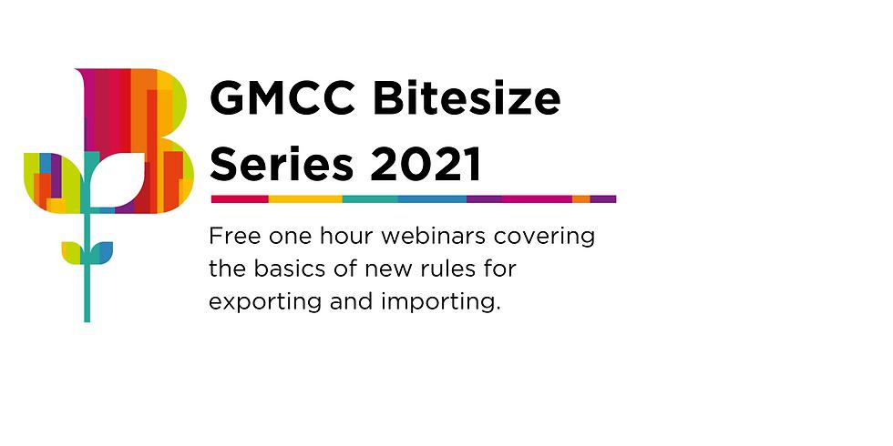 GMCC Bitesize Sessions Coming up Autumn 2021