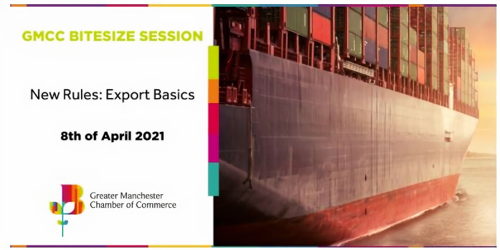 GMCC Bitesize Session - New Rules: Export Basics