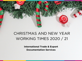 Christmas and New Year - GMCC Trade Teams opening times