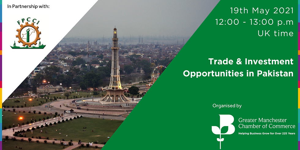 Trade & Investment Opportunities in Pakistan for British SMEs