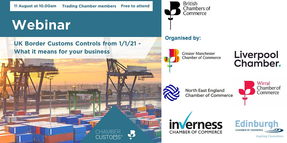 New UK Border Customs Control from 1/1/21 Webinar