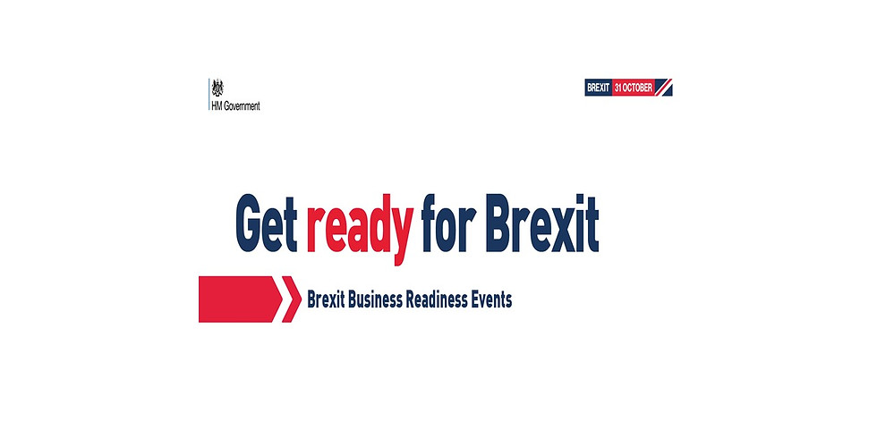 HM Government - Get Ready for Brexit Events