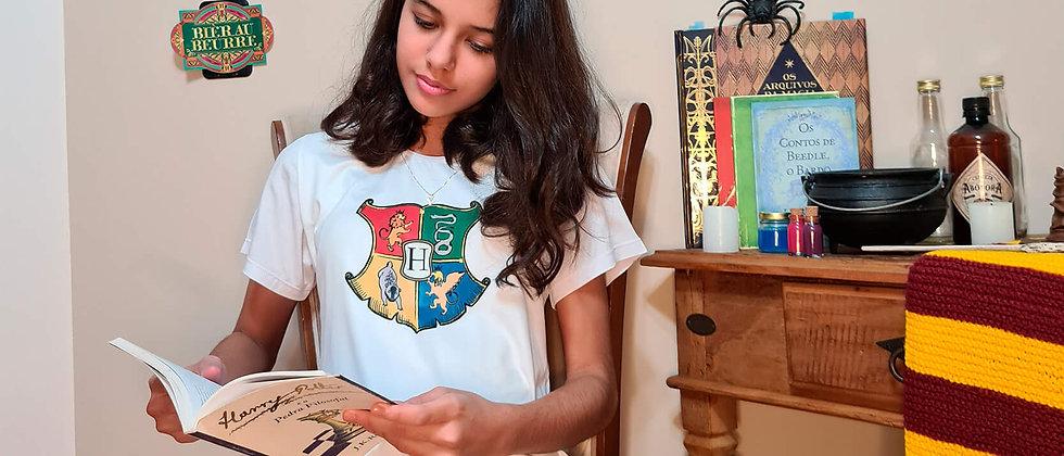Pijama Infantil Feminino Harry Potter