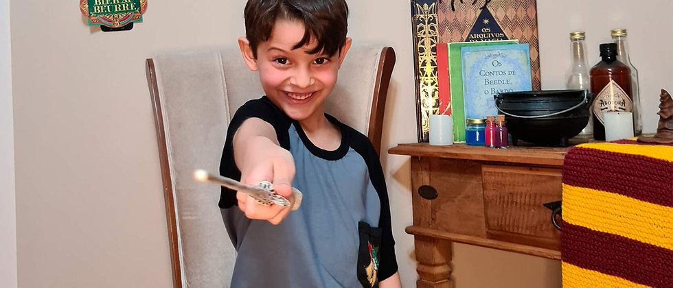 Pijama Infantil Masculino Harry Potter