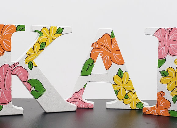 "3"" Letter - (4 letters)"