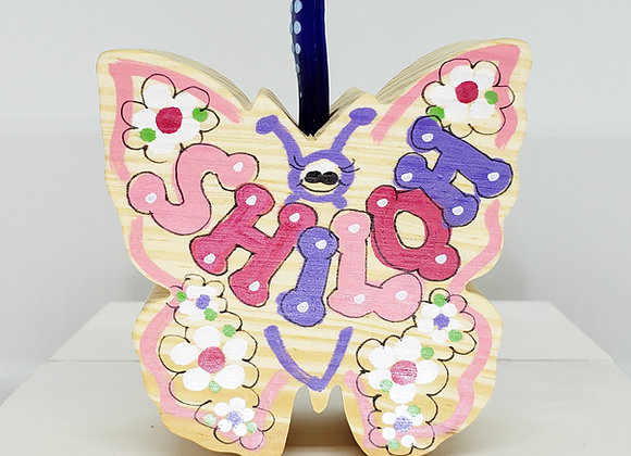 Butterfly Toothbrush/Pencil Holder