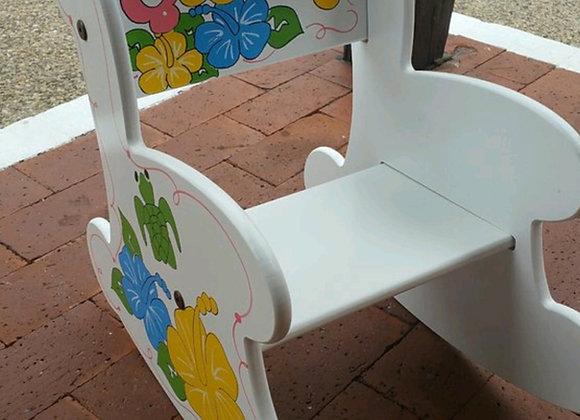 Large Rocking Chair - White