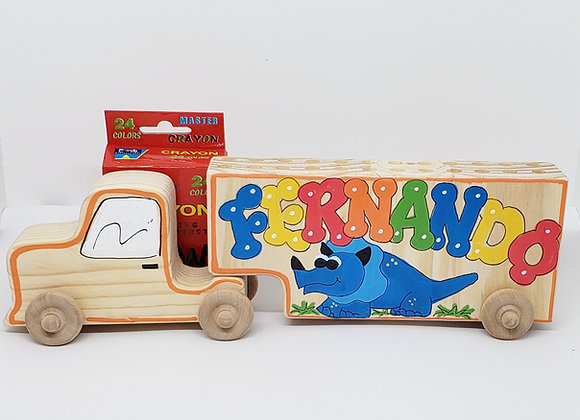 24Truck Crayon/Pencil Keeper