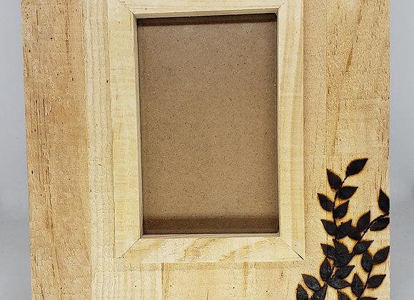 4x6 Photo Frame -Raw Wood