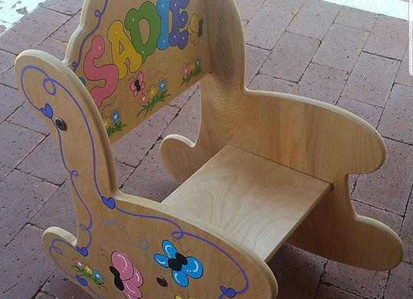 Small Rocking Chair - Natural