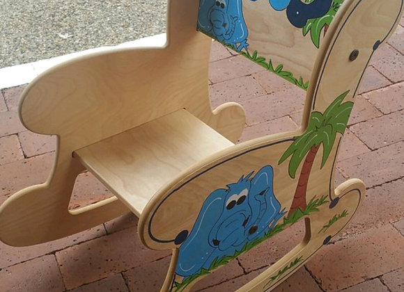 Large Rocking Chair - Natural