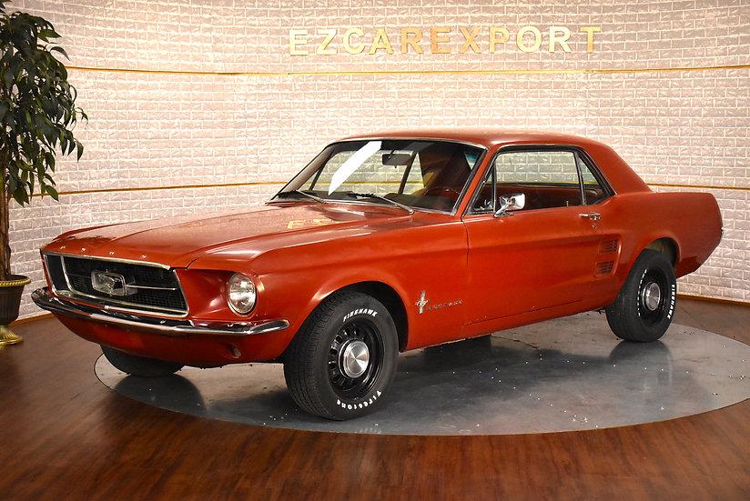 Mustang coupé code C de 1967 / boite mécanique