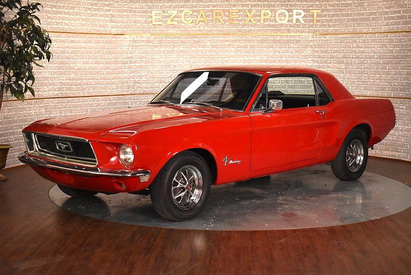Mustang coupé code C de 1968
