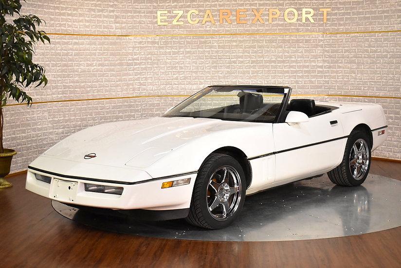 Corvette cabriolet de 1989