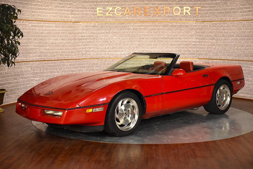 Corvette cabriolet de 1988