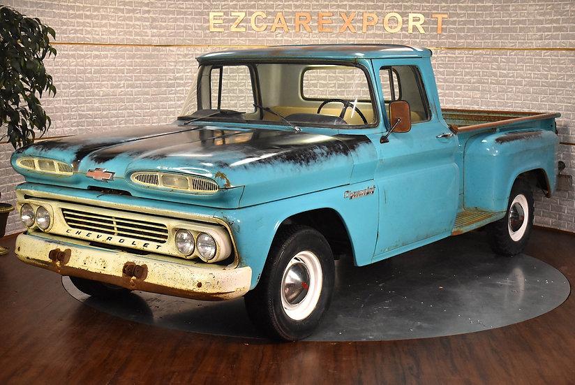 Chevy Apache 10 de 1960 / patina look