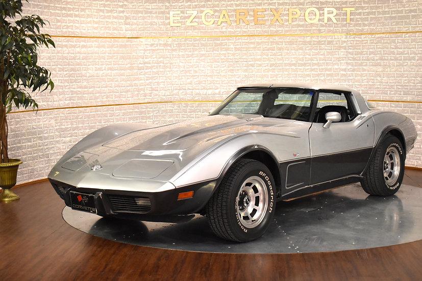 Corvette 1978 / boite mécanique / 383ci / 375ch