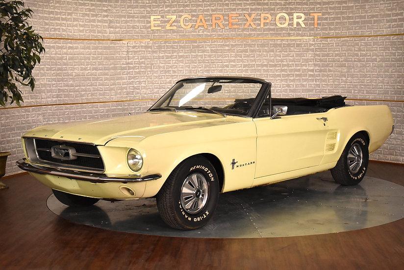 Mustang code C de 1967 / sortie de grange