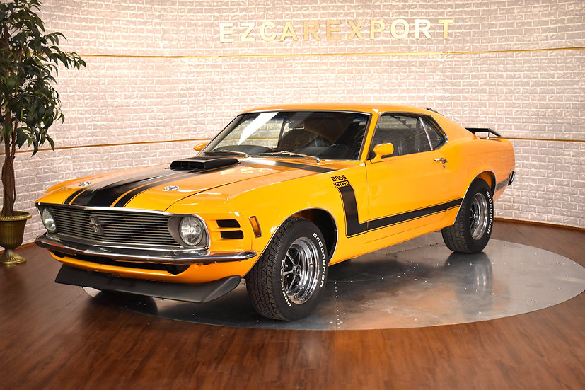 1970 BOSS 302 (rare canadian car)