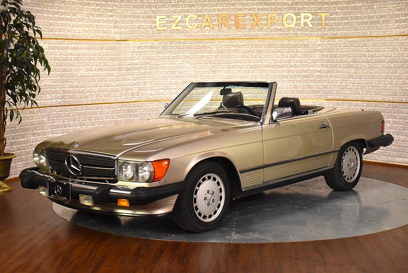 Mercedes 560SL de 1988