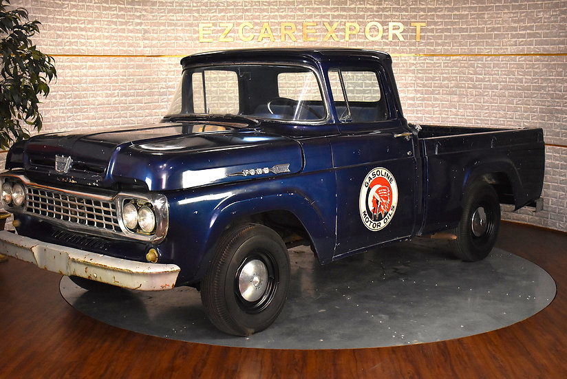 Ford F100 benne courte V8 e 1960