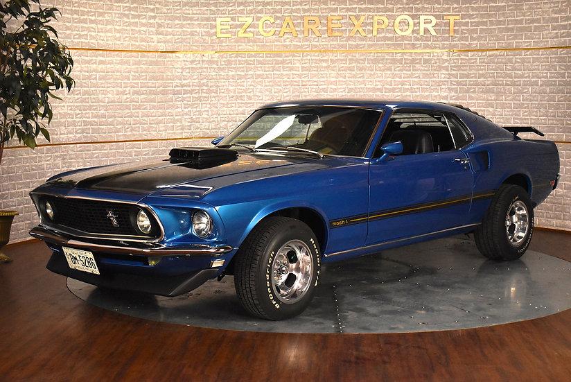 Mustang mach 1 de 1969