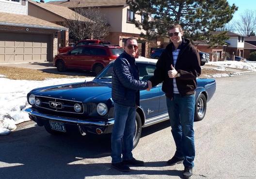 1965 Mustang from Dario