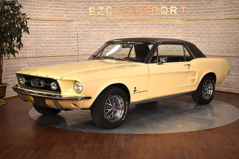Mustang coupé code C de 1967