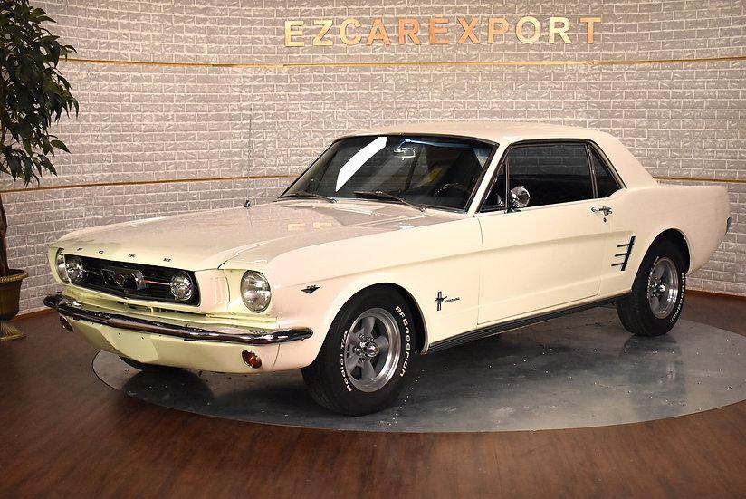 Mustang coupé code C de 1965 / RESTAURÉ