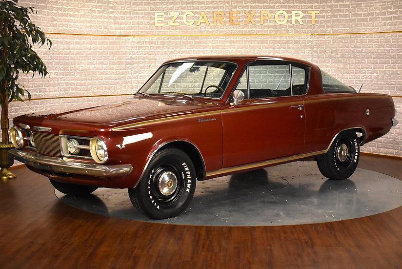 Plymouth Barracuda fastback de 1965